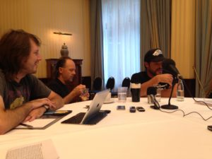 Metallica - Interview mit Lars und Rob - 2013 Berlin