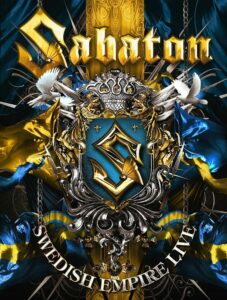 Sabaton - Swedish Empire Live (DVD Cover Art)