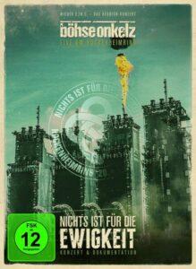 Böhse Onkelz - Nichts Ist Für Die Ewigkeit - Live Am Hockenheimring 2014 (DVD Cover Artwork)