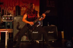 NOTHING BUT METAL FESTIVAL - Suicidal Angels - Gemeindesaal Malters, 14. Mai 2016 - Foto: Sabi
