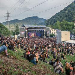 Bühnenansicht Metaldays 2016