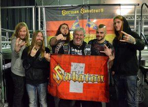 Sabaton - Wien 2015 mit Kaufi