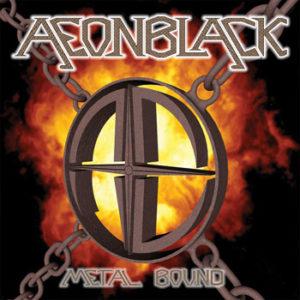 Aeonblack – Metal Bound (CD Cover Art Work)