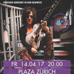 Steve Stevens - Plaza Zürich, 14.4.2017 (Flyer)