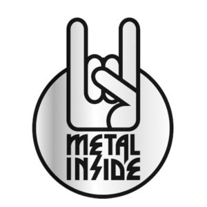 Metalinside.ch-Shop - Bumper-Sticker - silber
