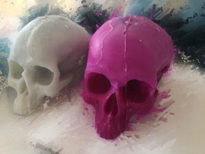 Skull Candles - Schädelkerzen