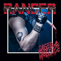 RANGER Speed Violence (CD Cover Artwort)