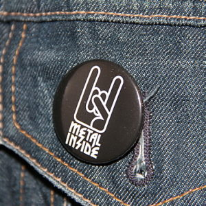 Show Your Metal - Metalinside Button