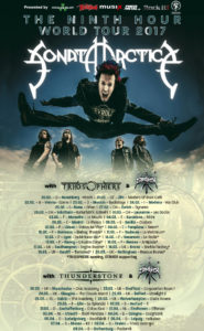 Sonata Arctica - Tour 2017 (Flyer)