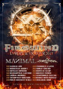 Firewind - Tour 2017