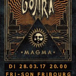 Gojira Fri-Son 2017 - Flyer