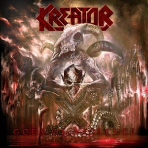 Kreator - Gods Of Violence (CD Cover Artwork)