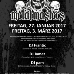 Metal Masters Vol VIII - Amboss Rampe Zürich 2017 (Flyer)