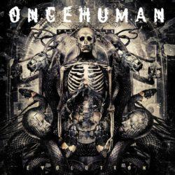 ONCE HUMAN – Evolution (CD Cover Artwork)