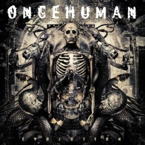 ONCE HUMAN – Evolution (CD Cover Artwork)
