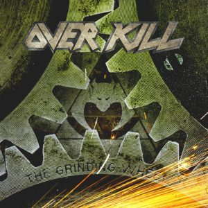 Overkill - The Grinding Wheel (CD Cover Artwork)