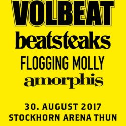 Volbeat - Stockhorn Arena 30. August 2017 (Flyer)