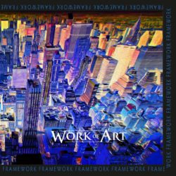 WORK OF ART - Framework (CD Cover Artwork)