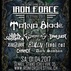 Iron Force Festival 2017 (Flyer)