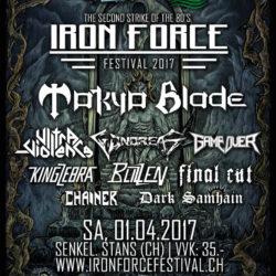 Iron Force Festival 2017 (Flyer)