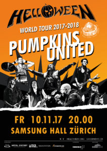 Helloween United - Samsung Hall Zürich, 10.11.2017