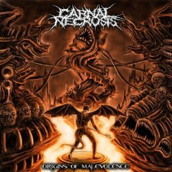 CARNAL NECROSIS – Origins Of Malevolence (CD Cover Artwork)