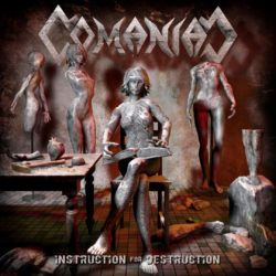 Comaniac – Instruction for Destruction (CD Cover Artwork)