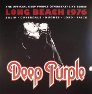 DEEP PURPLE – Live In Long Beach 1976 (CD Cover Artwork)