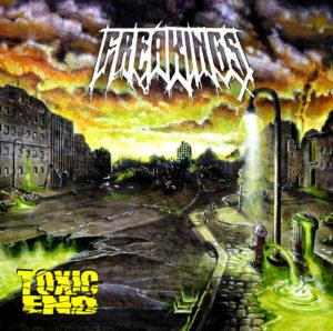 FREAKINGS – Toxic End (CD Cover Artwork)