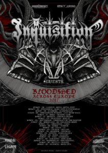 Inquisition - Mini Z7 Pratteln 12.4.2017 (Flyer)