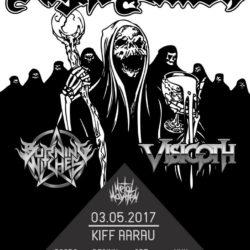 Night Demon - Kiff Aarau 2017 (Flyer)