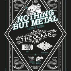 Nothing But Metal 2017 (Plakat)