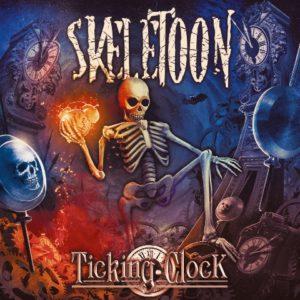 SKELETOON - Ticking Clock (CD Cover Artwork)