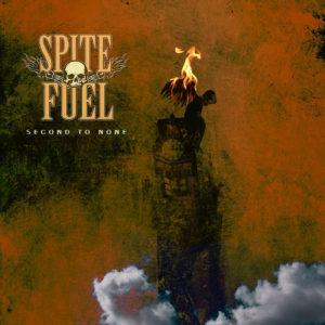 SpiteFuel - Second To None (CD Cover Artwork)