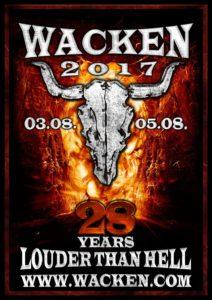 Wacken Open Air 2017 (Flyer)