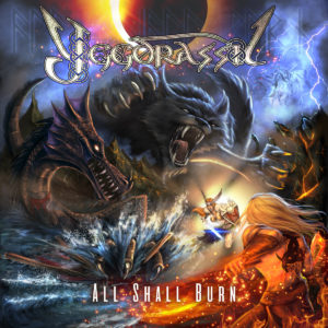 YGGDRASSIL – All Shall Burn (CD Cover Artwork)