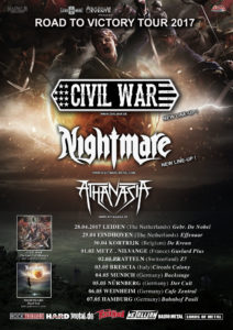 Civil War - Z7 Pratteln 2017 (Flyer)