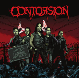 CONTORSION – United Zombie Nations (CD Cover Artwork)
