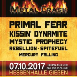 Metal Crash Festival 2017 (Flyer)