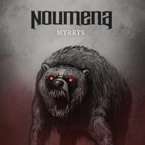 NOUMENA - MYRRYS (CD Cover Artwork)