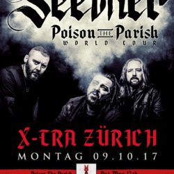 Seether - X-Tra Zürich 2017 (Flyer)