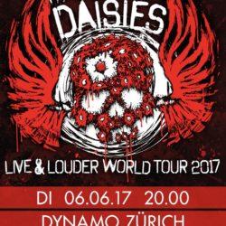The Dead Daisies - Dynamo Zürich 2017 (Flyer)