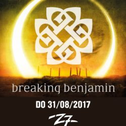Breaking Benjamin - Z7 Pratteln 31.08.2017 (Flyer)