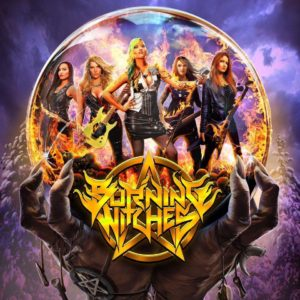 Burning Witches (CD Cover Artwork)