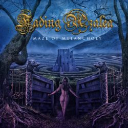 FADING AZALEA - MAZE OF MELANCHOLY (CD Cover Artwork)