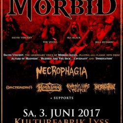 I am Morbid - Kufa Lyss 2017 (Flyer)