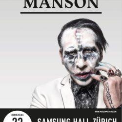 Marilyn Manson - Samsung Hall 2017 (Flyer)