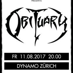 Obituary - Dynamo Zürich 2017 (Flyer)