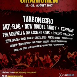 Open Air Gränichen 2017 (Flyer)