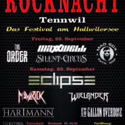 Rocknacht Tennwil 2017 (Plakat)